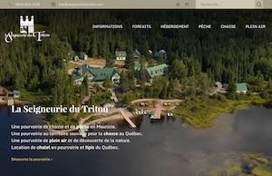 Seigneurie du Triton (Lac Édouard) - Mauricie, La Tuque