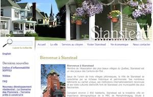 Municipalité de Stanstead-Est - Estrie / Canton de l'est, Municipalité Stanstead-Est