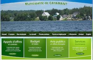 Municipalité de Cayamant - Outaouais, Cayamant
