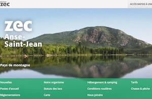 Zec de l'Anse-Saint-Jean - Saguenay-Lac-Saint-Jean, L'Anse St-Jean (Saguenay)
