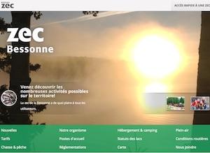 Zec de la Bessonne - Mauricie, La Tuque