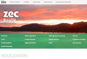 Zec Boullé - Lanaudière, Joliette
