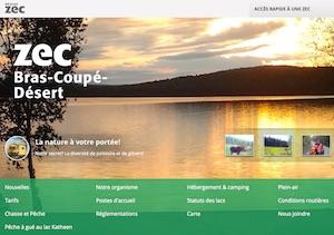 Zec Bras-Coupé-Désert - Outaouais, Maniwaki