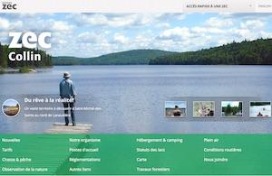 Zec Collin (Association Chasse et pêche Collin Inc.) - Lanaudière, Saint-Michel-des-Saints