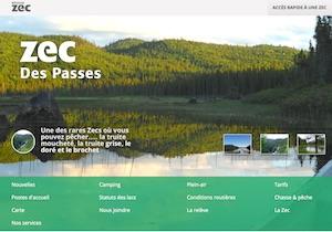 Zec des Passes - Saguenay-Lac-Saint-Jean, Alma (Lac-St-Jean)