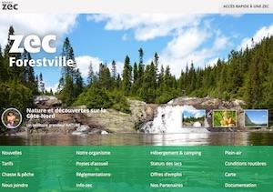 Zec de Forestville - Côte-Nord / Manicouagan, Forestville