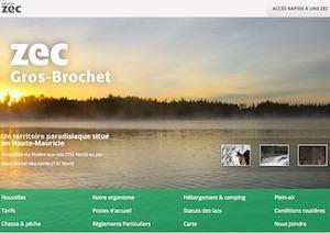 Zec du Gros-Brochet - Mauricie, Shawinigan