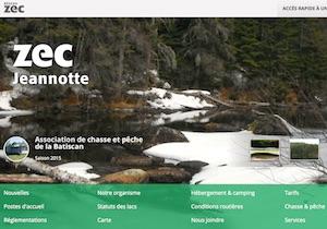 Zec Jeannotte - Mauricie, Trois-Rivières