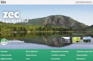 Zec du Lac-Brébeuf - Saguenay-Lac-Saint-Jean, Saint-Félix-d'Otis (Saguenay)