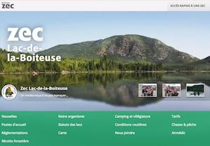 Zec du Lac-de-la-Boiteuse - Saguenay-Lac-Saint-Jean, Saguenay (Saguenay) (V) (Jonquière)
