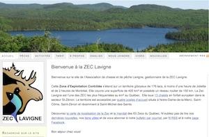 Zec Lavigne - Lanaudière, Saint-Zénon