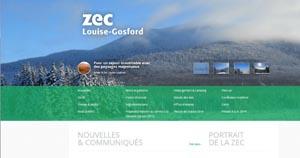 Zec Louise-Gosford - Estrie / Canton de l'est, Lac-Mégantic