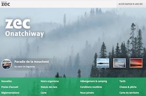 Zec Onatchiway-Est - Saguenay-Lac-Saint-Jean, Saguenay (Saguenay) (V) (Jonquière)