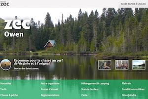 Fédération chasse et pêche Owen (Zec) - Bas-Saint-Laurent, Squatec