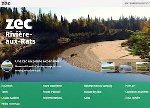 Zec de la Rivière-aux-Rats - Saguenay-Lac-Saint-Jean, Dolbeau-Mistassini (Lac-St-Jean)