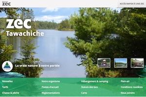 Zec Tawachiche - Mauricie, Lac-aux-Sables