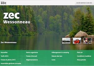 Zec Wessonneau - Mauricie, La Tuque