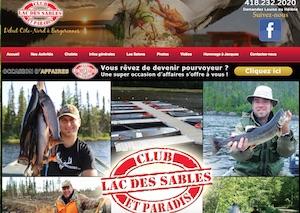 Club Lacs des Sables et Paradis Saguenay - Côte-Nord / Manicouagan, Les Bergeronnes