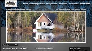 Domaine Lac des Cèdres - Chaudière-Appalaches, Saint-Malachie (Bellechasse)