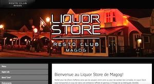 Liquor Store - Estrie / Canton de l'est, Ville de Magog