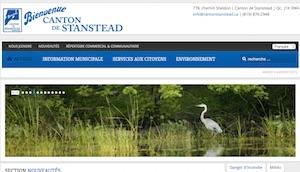 Municipalité Canton de Stanstead - Estrie / Canton de l'est, Canton de Stanstead