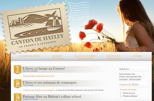 Municipalité Canton de Hatley - Estrie / Canton de l'est, Canton de Hatley