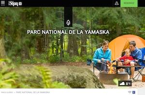 Camping du Parc national de la Yamaska (Sépaq) - Estrie / Canton de l'est, Granby