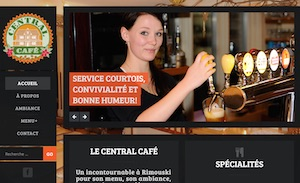 Restaurant Central Café - Bas-Saint-Laurent, Rimouski