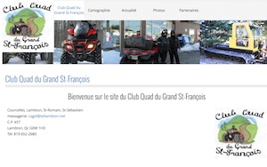Club Quad du Grand St-François - Estrie / Canton de l'est, Lambton (M)