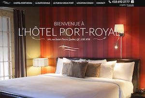 Hôtel Port-Royal - Capitale-Nationale, Ville de Québec (V)