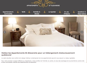 Appartements St-Alexandre - Montérégie, Longueuil