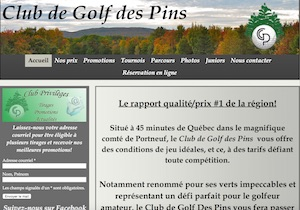 Club de Golf des Pins - Capitale-Nationale, Saint-Alban