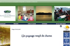 Municipalite Sainte-Cécile-de-Whitton - Estrie / Canton de l'est, Sainte-Cécile-de-Whitton