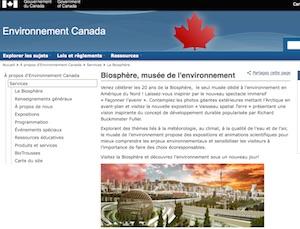 La Biosphère - Montréal, Montréal