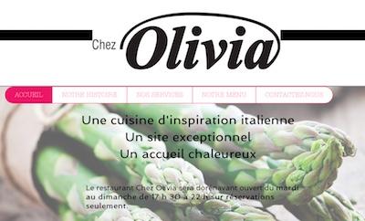 Restaurant Chez Olivia - Estrie / Canton de l'est, Val-Racine
