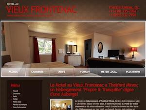 Motel au Vieux Frontenac - Chaudière-Appalaches, Thetford Mines (Région de Thetford)