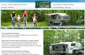 Camping Vélo 2000 - Estrie / Canton de l'est, Bromont