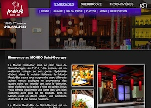 Restaurant Mondo resto bar - Chaudière-Appalaches, Saint-Georges (Beauce)