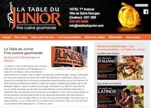 La Table du Junior - Chaudière-Appalaches, Saint-Georges (Beauce)