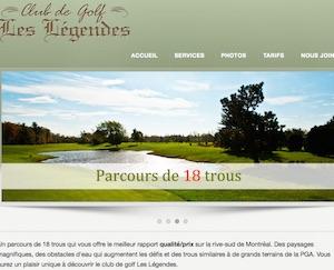 Club de Golf Les Légendes St-Luc - Montérégie, Saint-Jean-sur-Richelieu