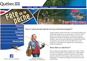 Fête de la Pêche Sherbrooke - Estrie / Canton de l'est, Sherbrooke (Rock Forest–Saint-Élie–Deauville)