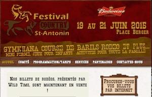 Festival country de St-Antonin - Bas-Saint-Laurent, Rivière-du-Loup (V)