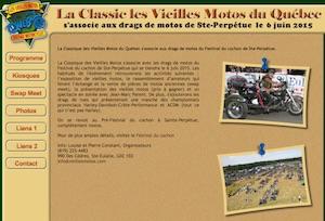Classic Les vieilles motos du Québec - -Centre-du-Québec-, Sainte-Eulalie