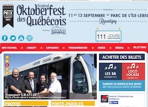Festival l'Oktoberfest des Québécois - Lanaudière, Repentigny