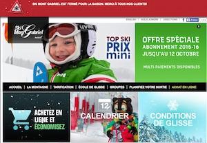 Centre de ski Mont Gabriel - Laurentides, Sainte-Adèle