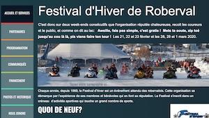 Festival d'hiver de Roberval - Saguenay-Lac-Saint-Jean, Roberval (Lac-St-Jean)
