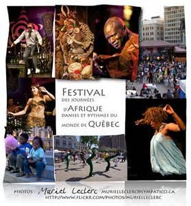 Festival des journées d'Afrique, danses et rythmes du monde - Capitale-Nationale, Ville de Québec (V) (La Cité-Limoilou)