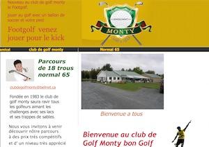 Club de Golf Monty - -Centre-du-Québec-, Drummondville (Saint-Nicéphore)