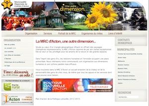 MRC D'Acton - Montérégie, Acton Vale