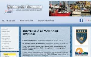 Marina de Rimouski-Est - Bas-Saint-Laurent, Rimouski (Rimouski-Est)